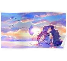 Sword Art Online - Asuna and Kirito Poster