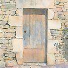 Doorway, Les Michelots, France by ian osborne