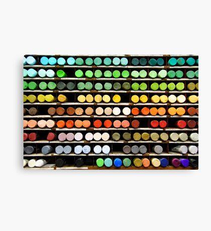 Pastels. Canvas Print