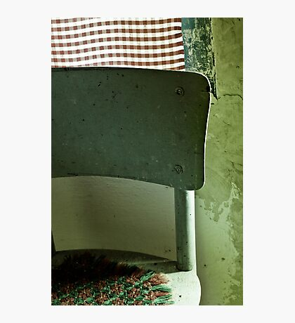 The old village chair Photographic Print