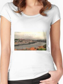 Oporto - Portugal Women's Fitted Scoop T-Shirt