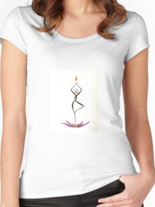 Align  Women's Fitted Scoop T-Shirt