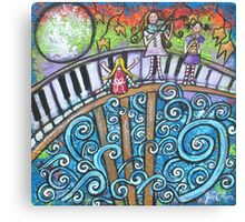 In The Magical Land Of Music Canvas Print