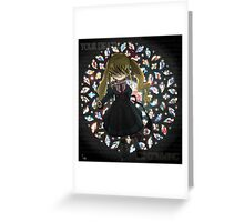 Gothic Little Girl Greeting Card