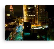 Cleveland Nights Canvas Print