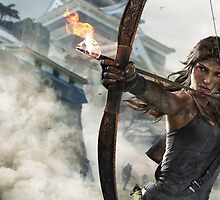 Tomb Raider - Lara Croft Hunting 2 by Mistman