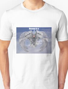 Heaven is a v twin Engine U.S.A T-Shirt