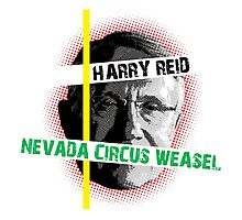Harry Reid Is A Weasel Photographic Print