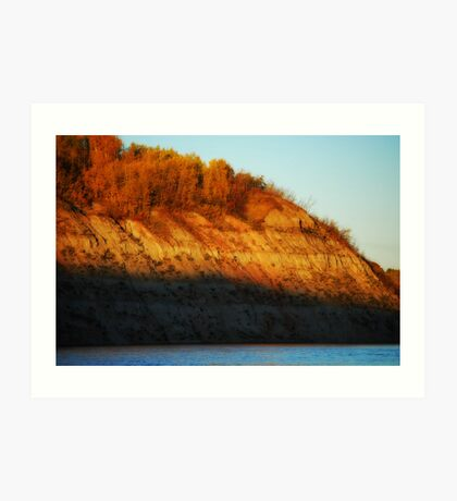 Autumn Evening Art Print