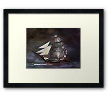 Sea stories 3.... Framed Print