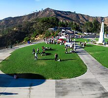 Rooftop view from Griffith Observatory by Merrian O. Lucando