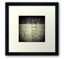 trade mark Framed Print