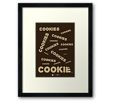 Cookies! Framed Print