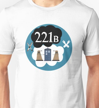 Sherlock/Doctor Who/Tfios Design Unisex T-Shirt