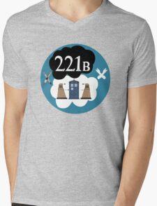 Sherlock/Doctor Who/Tfios Design Mens V-Neck T-Shirt