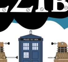 Sherlock/Doctor Who/Tfios Design Sticker