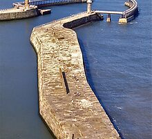 Whitby Breakwater by David Davies