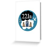 Sherlock/Doctor Who/Tfios Design Greeting Card
