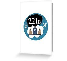 Sherlock/Doctor Who/Tfios Design Greeting Card