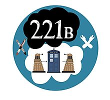 Sherlock/Doctor Who/Tfios Design Photographic Print
