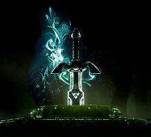 The Legend of Zelda - Link Sword Excalibur by Mistman