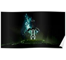 The Legend of Zelda - Link Sword Excalibur Poster