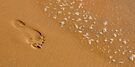 Footprint in the Sand by lamiel