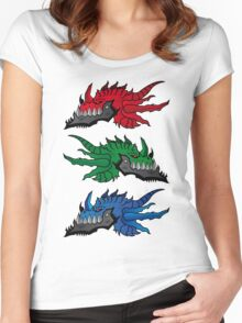 RGB Dragons Women's Fitted Scoop T-Shirt