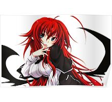 Highschool DxD - Rias Gremory Poster