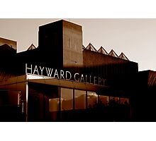 Hayward Gallery Photographic Print