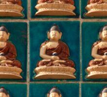 Buddha In Blue ©  Sticker