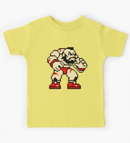 Zangief - Street Fighter Sprite Kids Tee