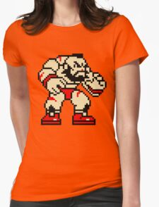 Zangief (sprite) Womens Fitted T-Shirt