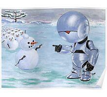 Tinny Snowman??? Poster