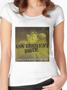 GOVERNMENT ISSUE - COMPLETE HISTORY VOLUME 1 Women's Fitted Scoop T-Shirt