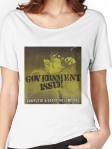 GOVERNMENT ISSUE - COMPLETE HISTORY VOLUME 1 Women's Relaxed Fit T-Shirt