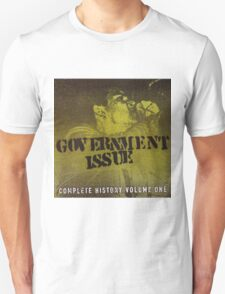 GOVERNMENT ISSUE - COMPLETE HISTORY VOLUME 1 Unisex T-Shirt
