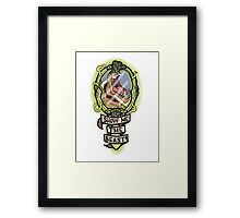 Show me the Beast! Framed Print