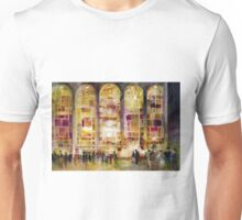 Night time at Lincoln Center Unisex T-Shirt