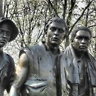 Vietnam Memorial by Nigel Fletcher-Jones