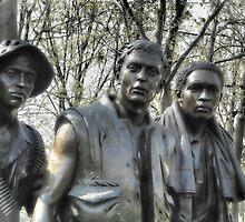 Vietnam Memorial by Nigel Fletcher-Jones