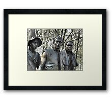 Vietnam Memorial Framed Print