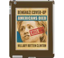 Hell No Hillary iPad Case/Skin