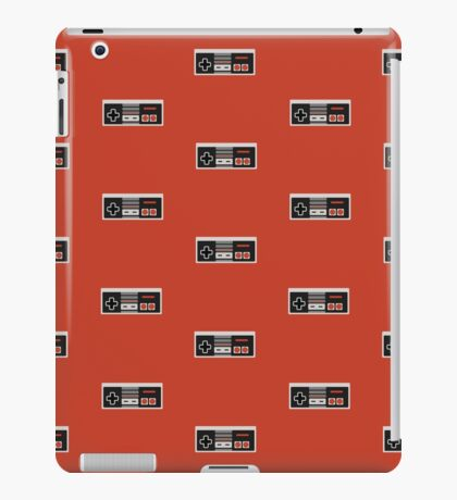Nintendo Entertainment System Controller Pattern iPad Case/Skin