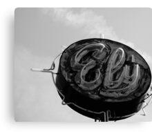 Ely B&W Canvas Print