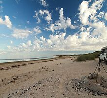 Waiting for nightfall - McLeods Beach Exmouth WA Australia by cookieshotz