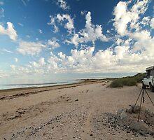 Waiting for nightfall - McLeods Beach Exmouth WA Australia by cookieshotz