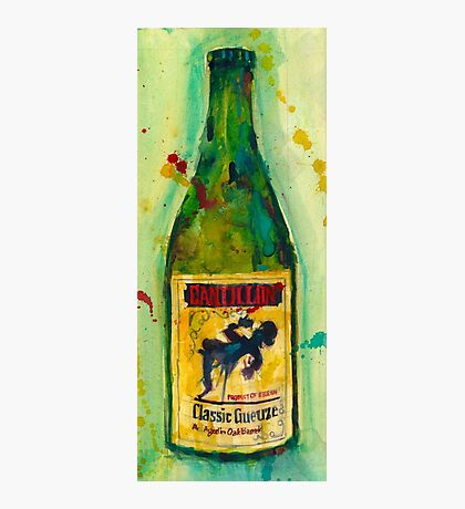 Cantillon Brewery Beer Classic Gueuze Beer Art Photographic Print