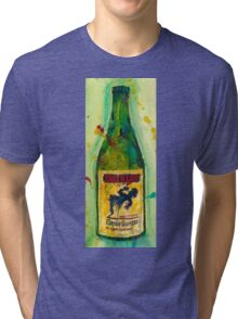Cantillon Brewery Beer Classic Gueuze Beer Art Tri-blend T-Shirt