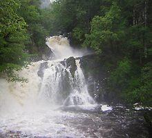 Chia Aig Falls by Janet Watson